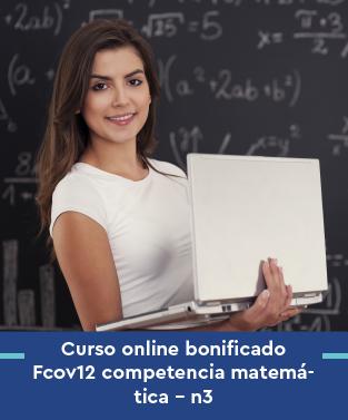 Curso online bonificado Fcov12 competencia matemática - n3