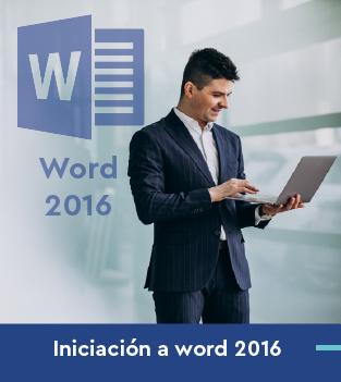 Curso online de Iniciación a word 2016