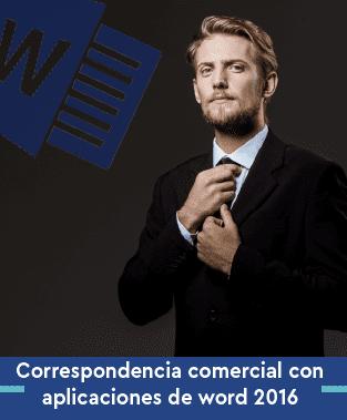 Curso online de Correspondencia comercial con aplicaciones de word 2016