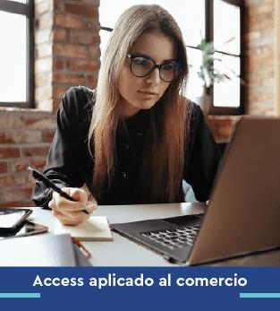 Curso online bonificado Access aplicado al comercio
