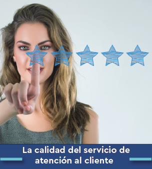 Cursos online Bonificados de La calidad del servicio de atención al cliente