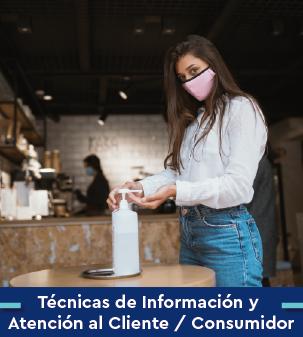 Cursos online Bonificados de Técnicas de información y atención al cliente/consumidor