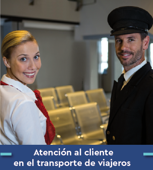 Cursos online Bonificados de Atención al cliente en el transporte de viajeros