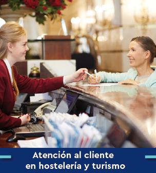 Cursos online Bonificados de Atención al cliente en hostelería y turismo
