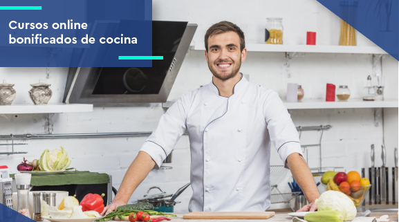 Cursos online bonificados de cocina