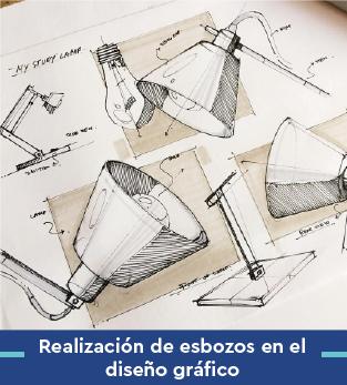 Curso online bonificado Realización de esbozos en el diseño gráfico
