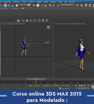 Curso online 3DS MAX para Modelado