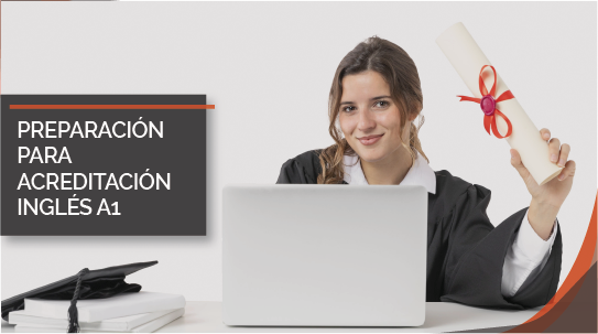 Curso online Preparación para acreditación Inglés A1