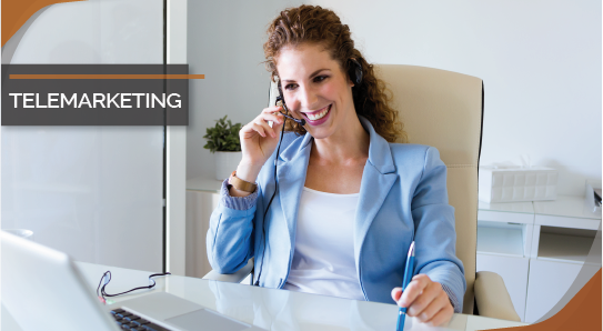 Curso online bonificado Telemarketing
