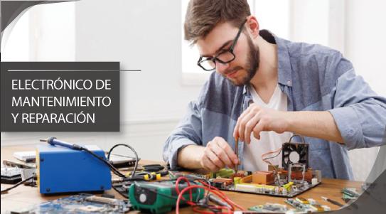 Curso online Electrónico de mantenimiento y reparación