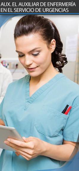 Curso online AUX. El Auxiliar de Enfermería en el Servicio de Urgencias