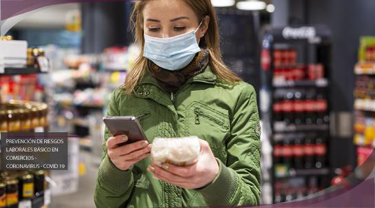 Prevención de riesgos laborales básico en comercios - Coronavirus - Covid 19