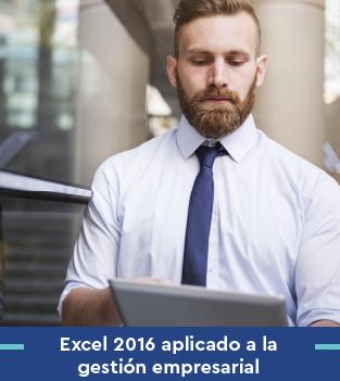 Curso bonificado Excel 2016 aplicado a la gestión empresarial
