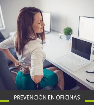 Curso Bonificado de Prevención en oficinas