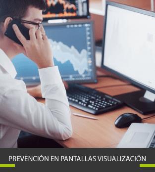 Cursos bonificados de Prevención en Pantallas visualización