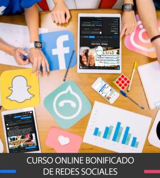 Curso Bonificado de Redes Sociales