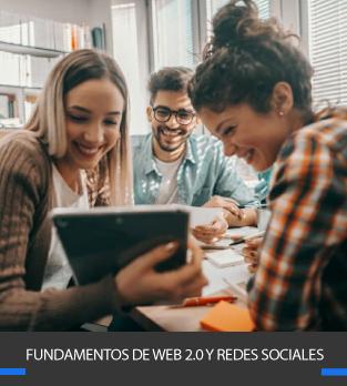Curso online bonificado Fundamentos de web 2.0 y redes sociales